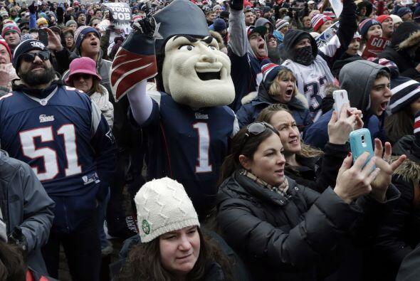 """Al respecto, Brady indicó que: """"Tenemos a los mejores fans, y ¡los repre..."""