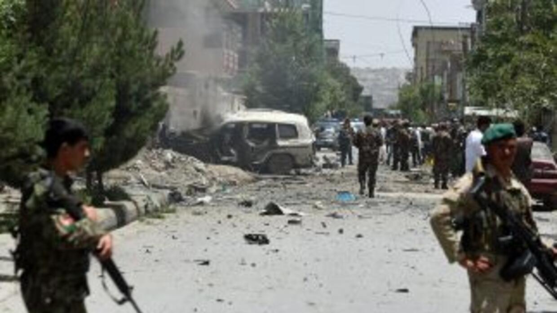 Afganistán, zona de guerra.
