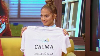 ¡La primera vez de Jennifer Lopez en Despierta América!