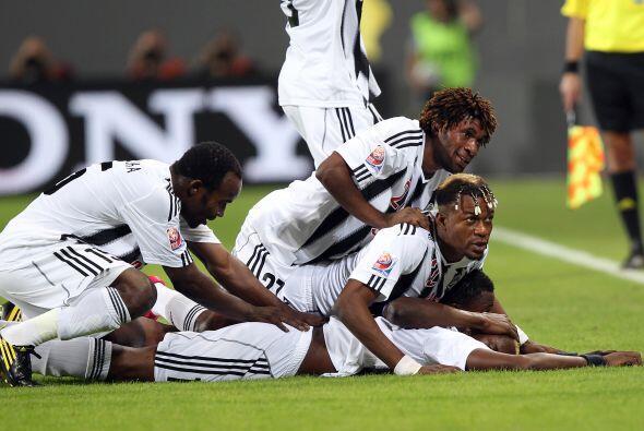 El primer gol lo marcó Kabangu a los 53 minutos de juego, luego d...