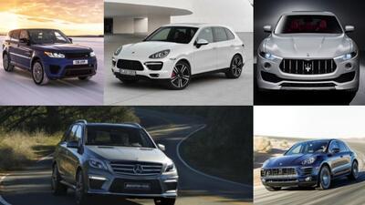 Estas son las cinco SUVs más rápidas del mundo