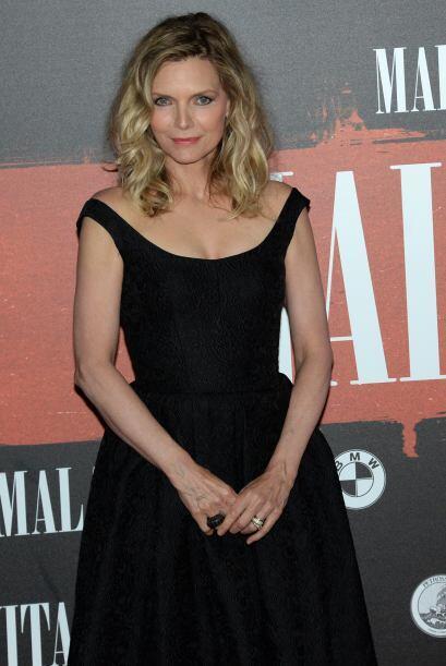 Michelle Pfeiffer saltó al estrellato tras su rol en la cinta 'Scarface'...
