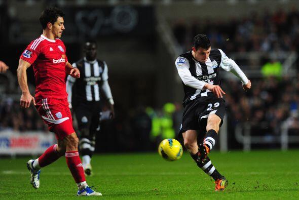 El Newcastle necesitaba puntuar tres unidades ante el West Bromwich.