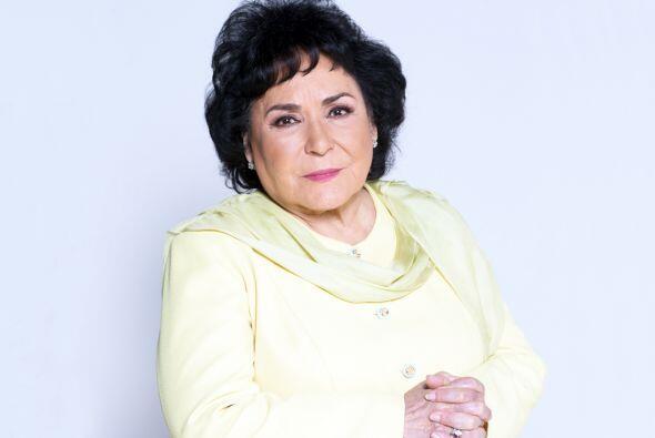 Carmelita Salinas hará de las suyas en esta telenovela. Será una mujer p...
