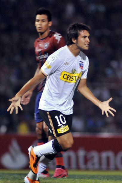 Cristóbal Jorquera (imagen) cuando estaba en Colo Colo.