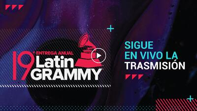 EN VIVO: Latin GRAMMY 2018