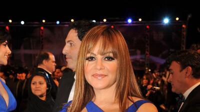Recordamos la única vez que Jenni Rivera desfiló con su marido la alfombra de Premio Lo Nuestro