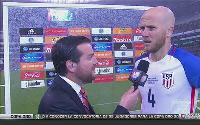 """Michael Bradley calificó como """"enorme"""" el empate en el Azteca"""