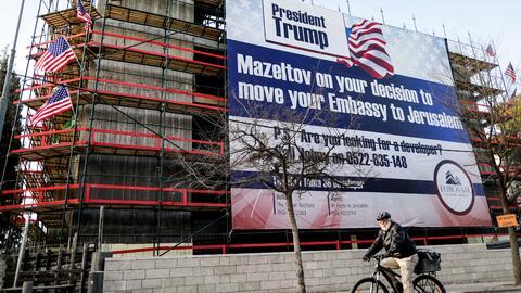 Presidente Trump: 'mazeltov' por su decision de mudar su embajad...