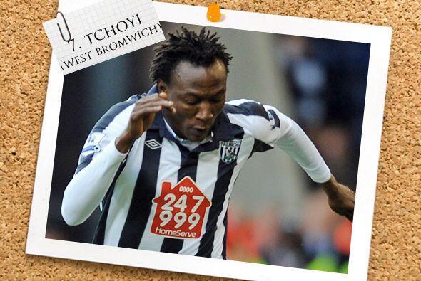Junto a él, tenemos al camerunés Somen Tchoyi.