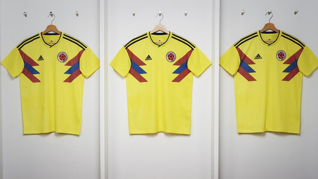 Adidas presentó los nuevos uniformes para el Mundial de Rusia 2018 camis...