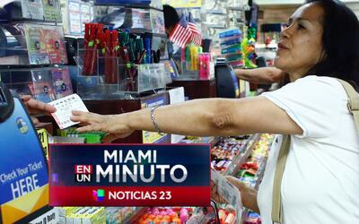 'Miami en un Minuto': expectativa por el acumulado de 700 millones de dó...