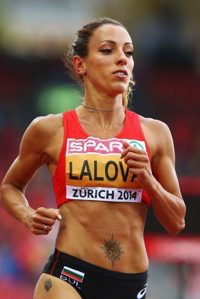 Iveta Lalova, también dio de que hablar por su singular apellido.