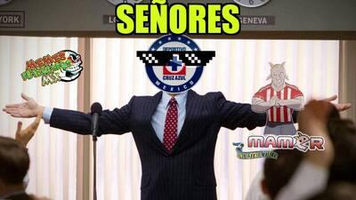 Los memes 'celebraron' los triunfos de Cruz Azul y Necaxa