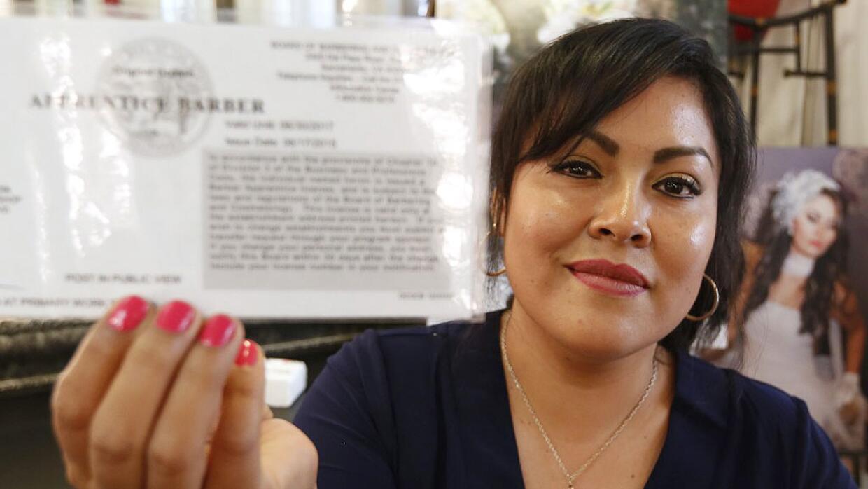 La inmigrante indocumentada Martha Ivonne Servín