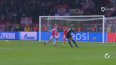 Mbappé concretó la goleada del Paris que avanza como primer lugar de grupo