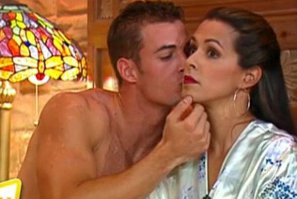 5.-Uno de los momentos más candentes de la presentadora en la Tv...