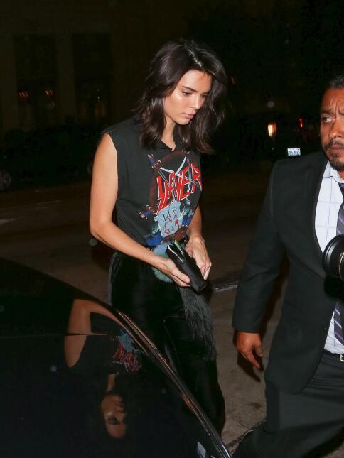 Kendall Jenner asiste a la fiesta de una boutique
