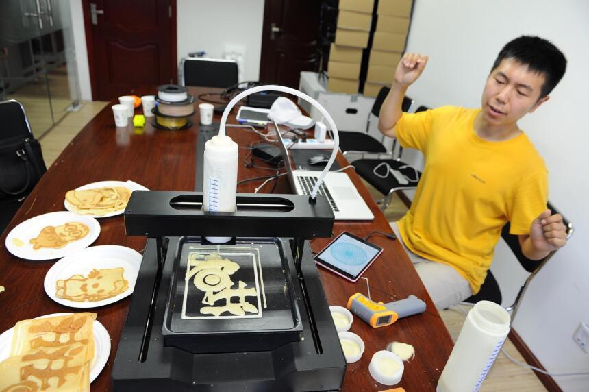 impresora de crepas 3D