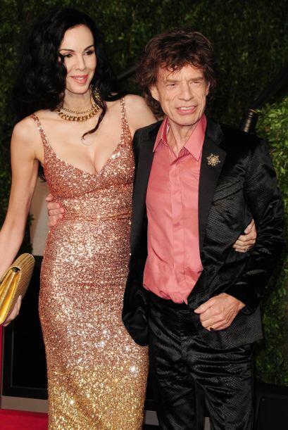 En el plano amoroso fue la novia de Mick Jagger, vocalista de los Rollin...