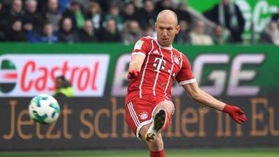 Arjen Robben no descarta llegar a la MLS en el verano.