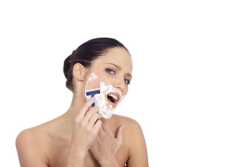 depilación vello facial