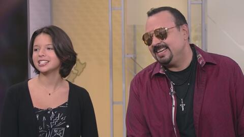 Pepe Aguilar habla de la nueva canción que canta junto a su hija Ángela