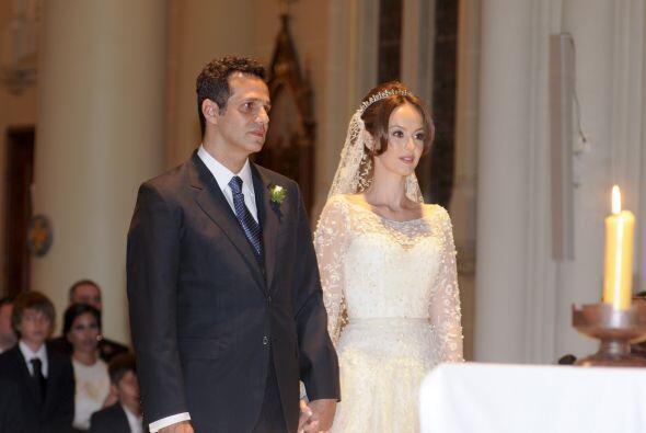 Esta es la primera boda eclesiástica para Gaby.