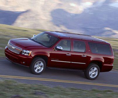 Chevy SuburbanLa Chevrolet Suburban, un transporte para gente y carga q...