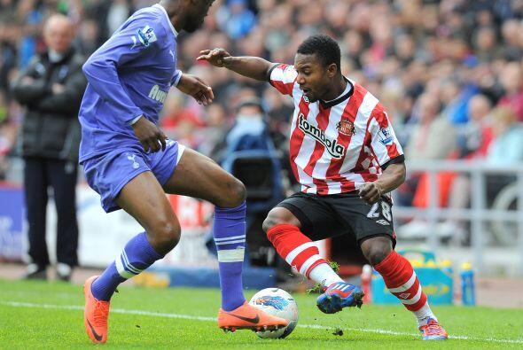 Tottenham y Sunderland terminaron empatados a 1, en un entretenido partido.