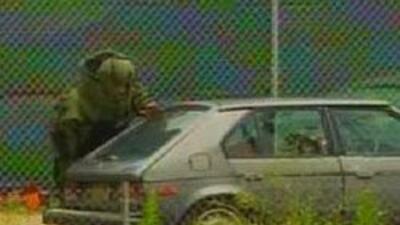 Declaran como falsa alarma el presunto auto-bomba que se hallo en Newark...
