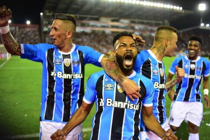 Gremio derrotó a Lanús y se coronó campeón de la Copa Libertadores 2017...