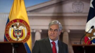 El presidente de Chile, Sebastian Piñera, dijo que el 2010 ha sido un a...