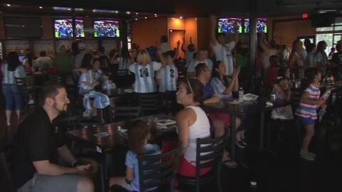 Argentinos celebran en Dallas