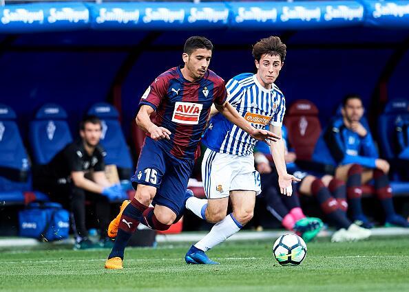 En fotos: Eibar y Real Sociedad empatan sin goles con Héctor Moreno en l...