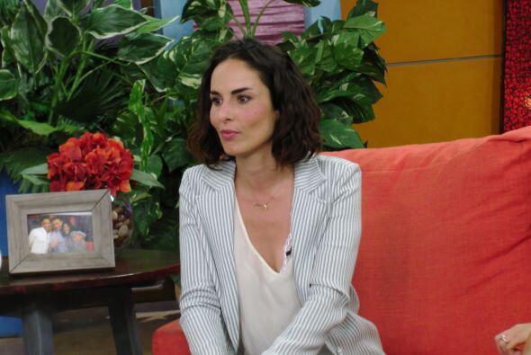 Para dar vida a Griselda, Ana tuvo que trabajar el acento colombiano.