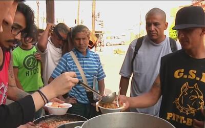 'Comida, no bombas', el proyecto que busca rescatar alimentos y darlo a...