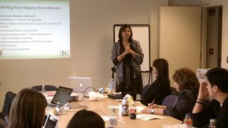 Univision y Hispanicize llevaron a cabo un taller para organizaciones si...