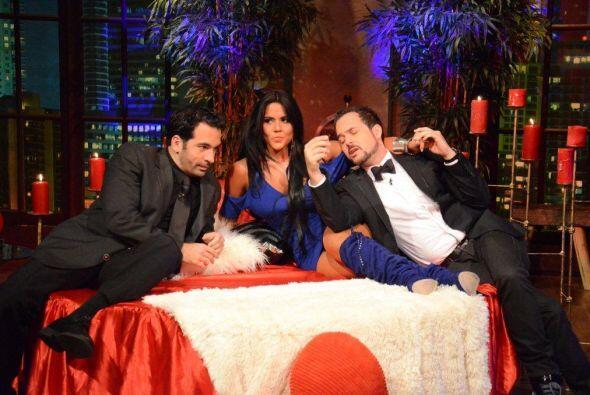 Junto a Carlos y Daniel, Maripily la pasa de lujo