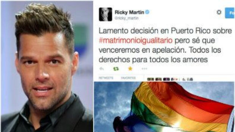 El cantante puertorriqueño demostró su desacuerdo con el fallo del juez...