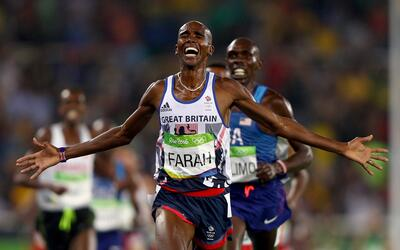 El estilo que Mo Farah ha desarrollado le permite correr más r&aa...