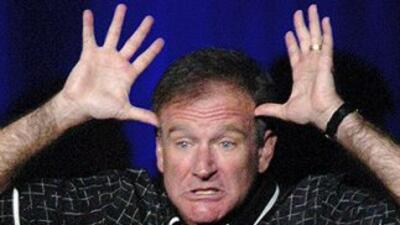 El actor estadounidense Robin Williams.