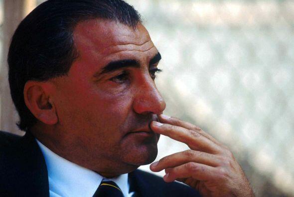 El técnico del conjunto que en ese entonces era el argentino Miguel Ange...