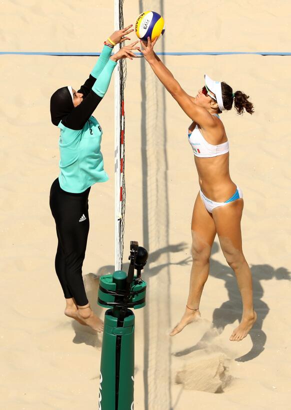 Doaa Elghobashy y Laura Giombini