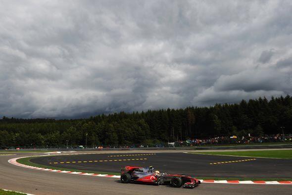 El clima fue un factor importante durante toda la carrera.