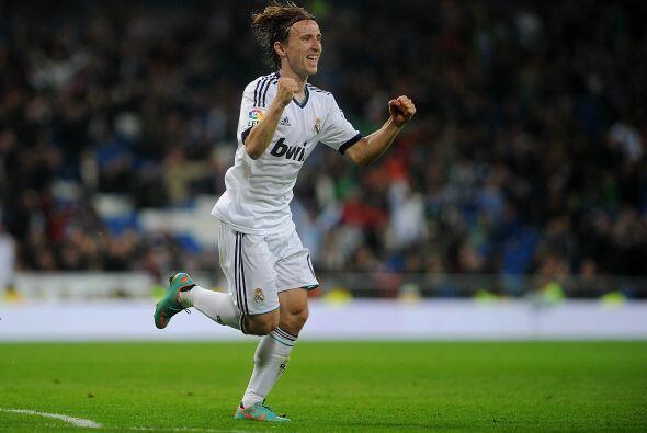 Le sigue un croata que comienza a tomar forma con Real Madrid, Luka Modric.