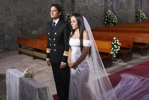 Llegaron al altar y se juraron amor eterno. ¡Qué romántico!