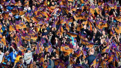 Aficionados del Barcelona