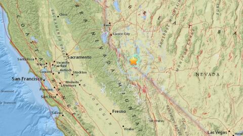 El epicentro de los dos temblores de 5.7 grados se ubicó en  Hawt...