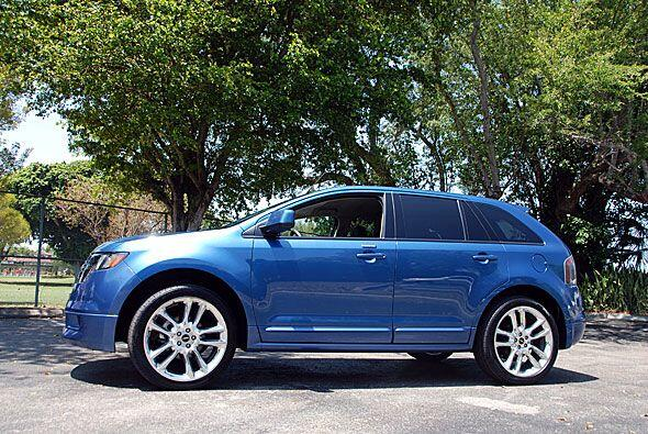 El Ford Edge apunta a los clientes interesados en un diseño más deportiv...